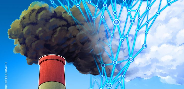 Bringing carbon emissions reporting into the new age via blockchain