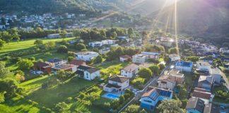 Le quartier à l'électricité solaire